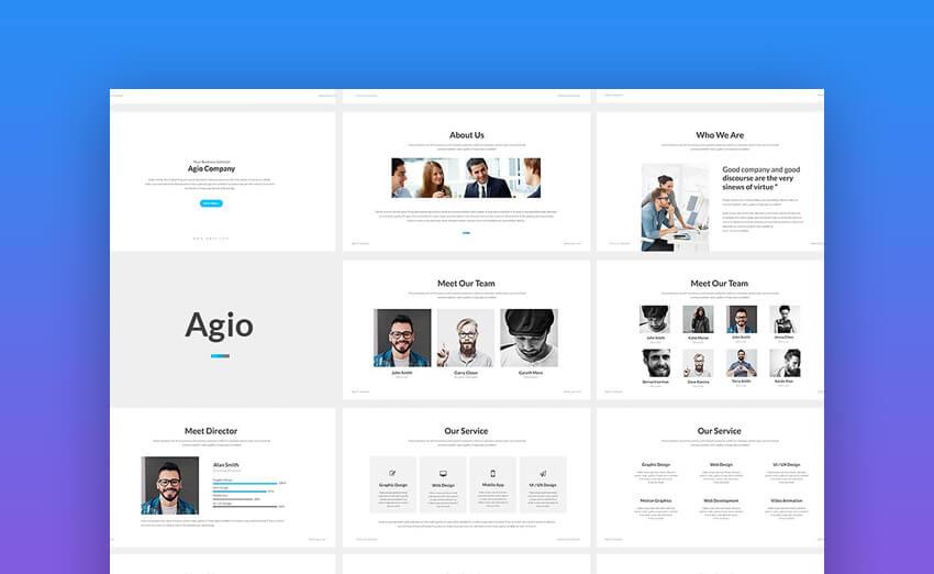 Agio PowerPoint Presentation Template