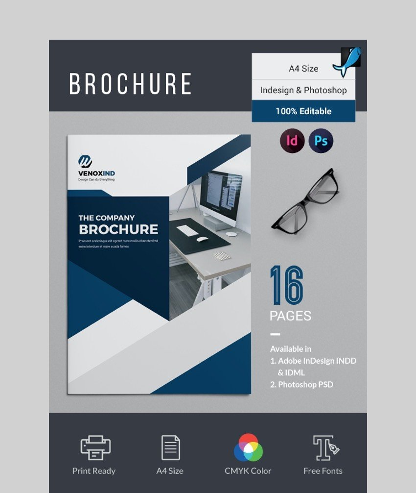 Modern Brochure - Photoshop Brochure Template