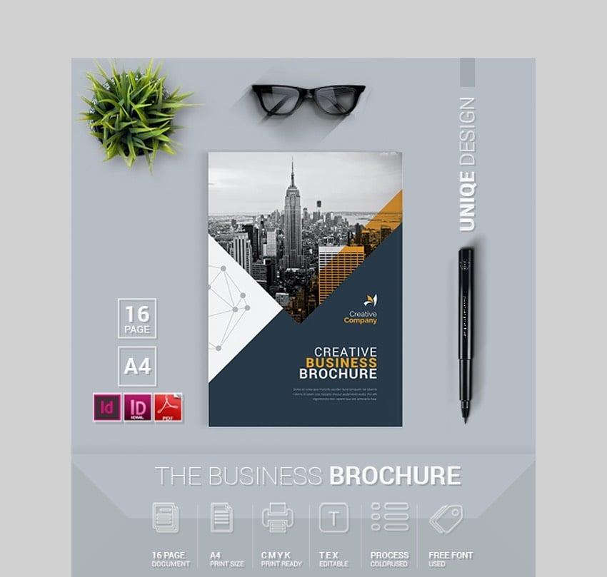 Creative Business Brochure Template InDesign