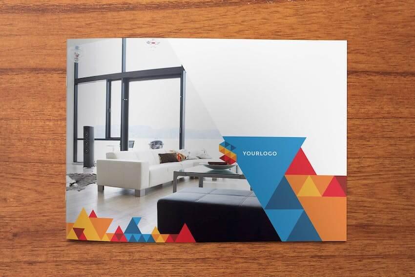 Geometric InDesign Brochure Template