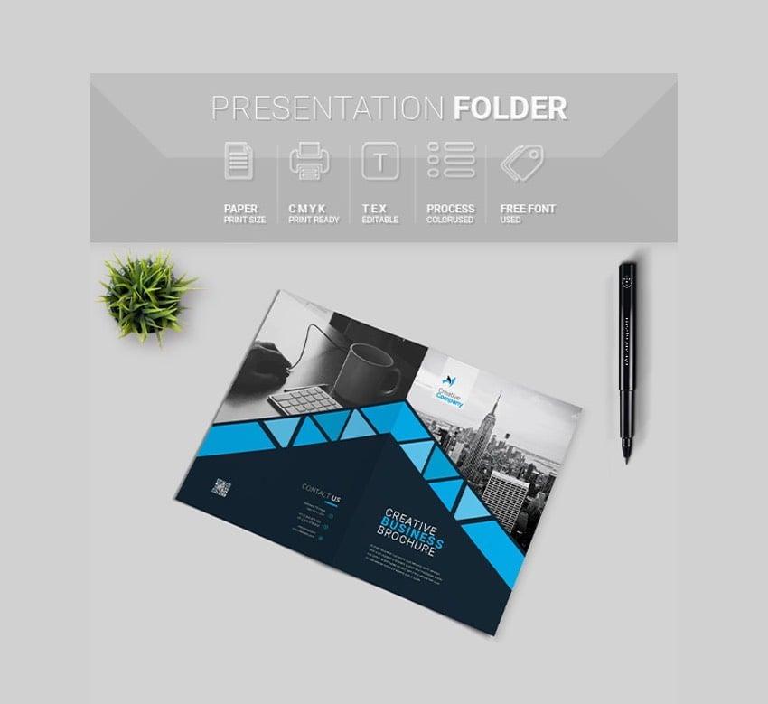 Bifold Brochure InDesign Template