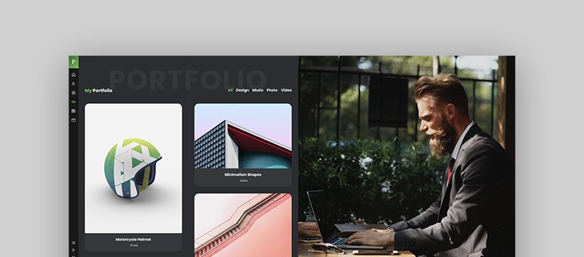 Patrick  vCard One Page WordPress Theme For Actors