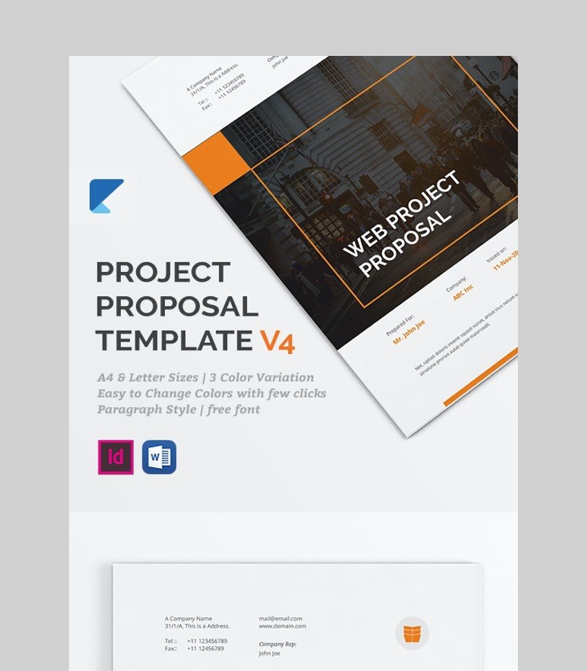 V4 - plantilla de proyecto profesional