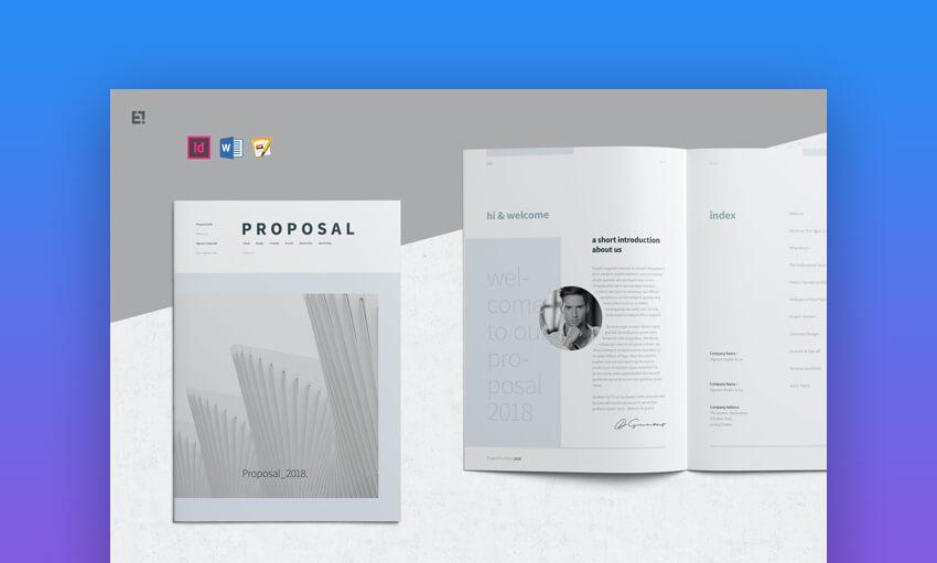 Proposal - Premium Modern Business Proposal Template Download