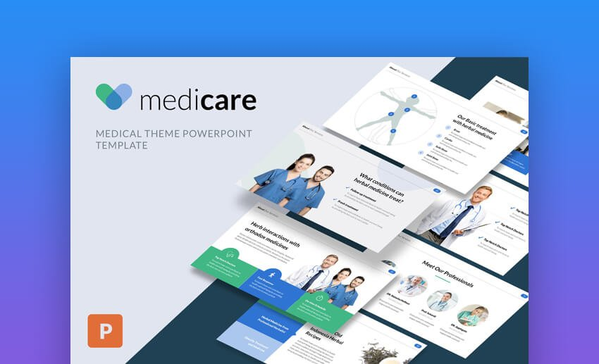 MediCare - Modern Medical PowerPoint Template