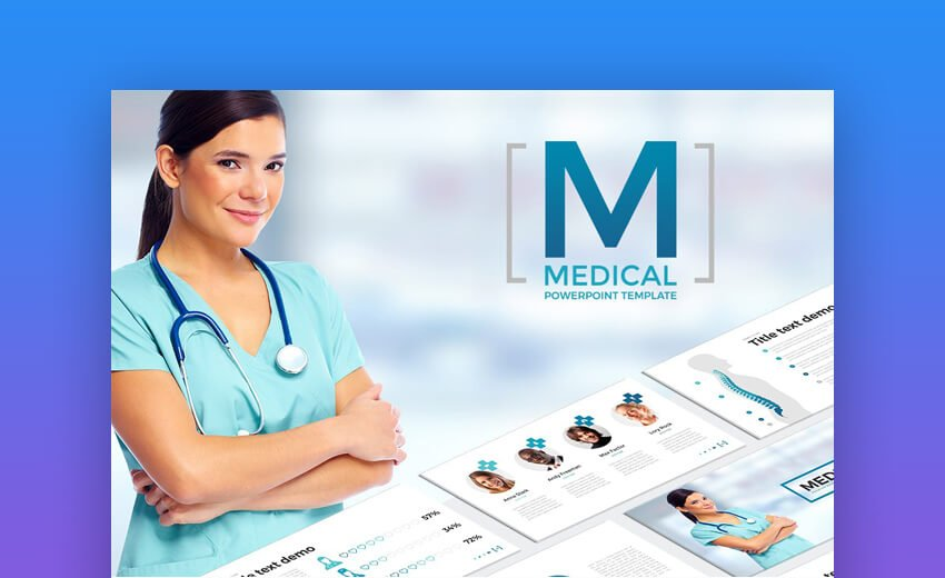 Medical - Clean Medical PowerPoint Template