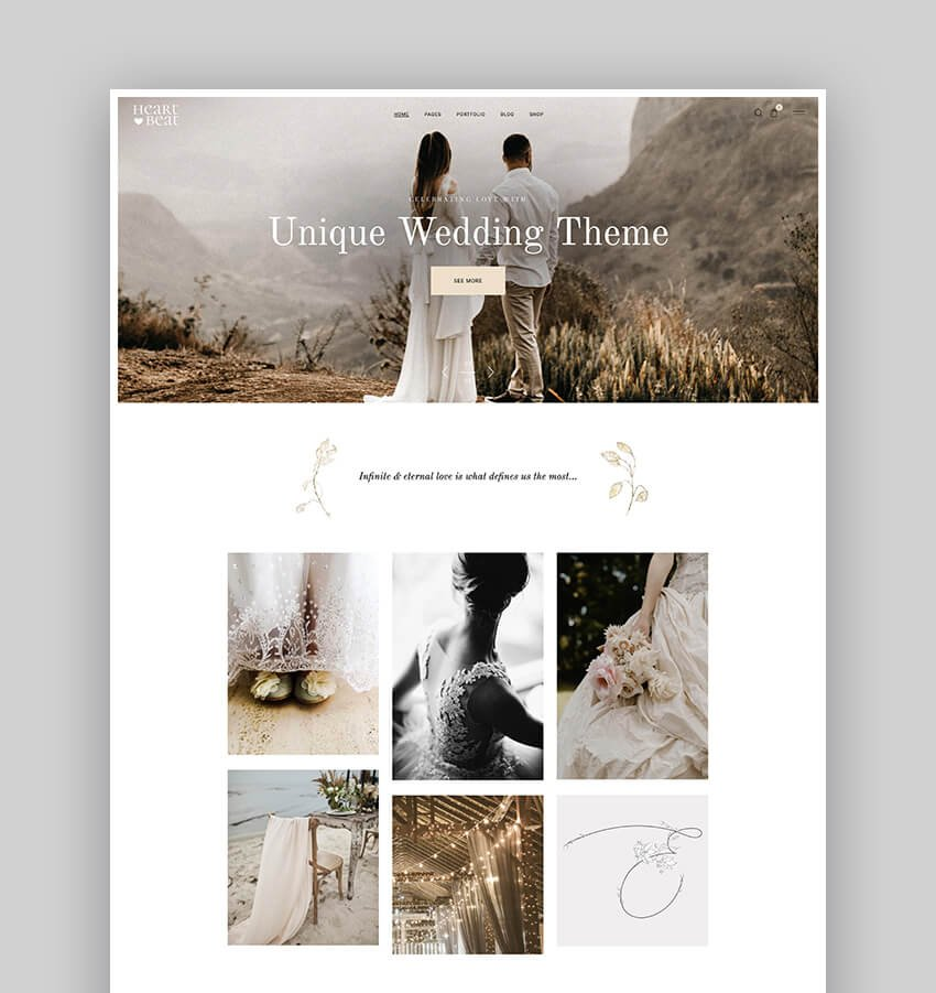 Heartbeat - Wedding and Event Planner WordPress Theme