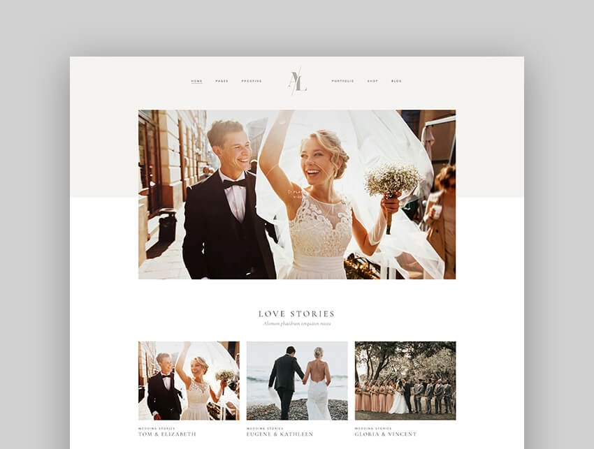 Solene - Wedding Photography And Planner Theme