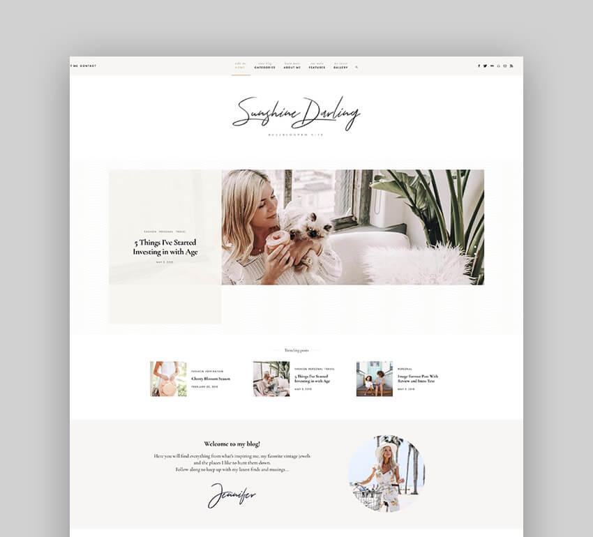 Buzz - Lifestyle Blog  Magazine WordPress Theme