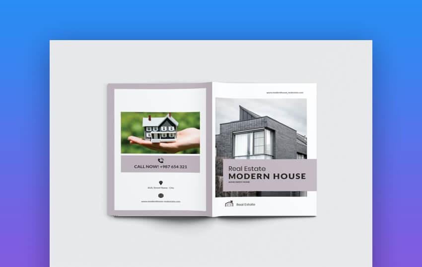 House Real Estate Brochure