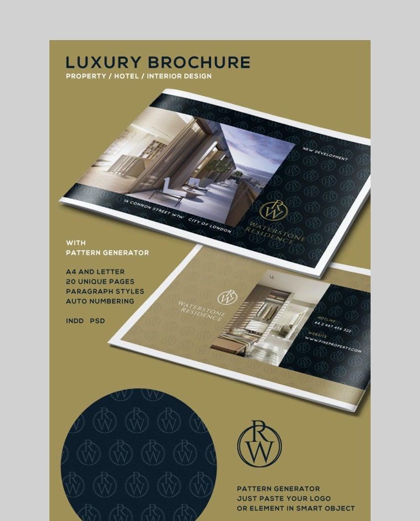 Luxury Real Estate Brochure