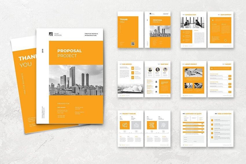 Proposal Template From Envato Elements
