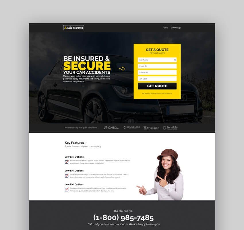 Auto Insurance WordPress Theme