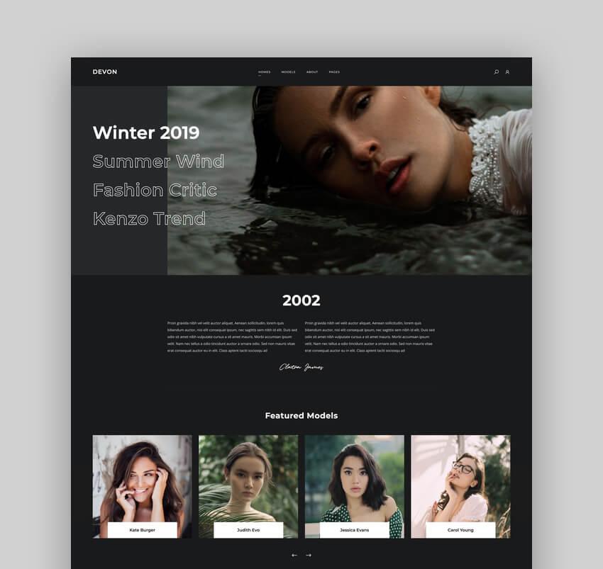 Devon - Model Agency Directory