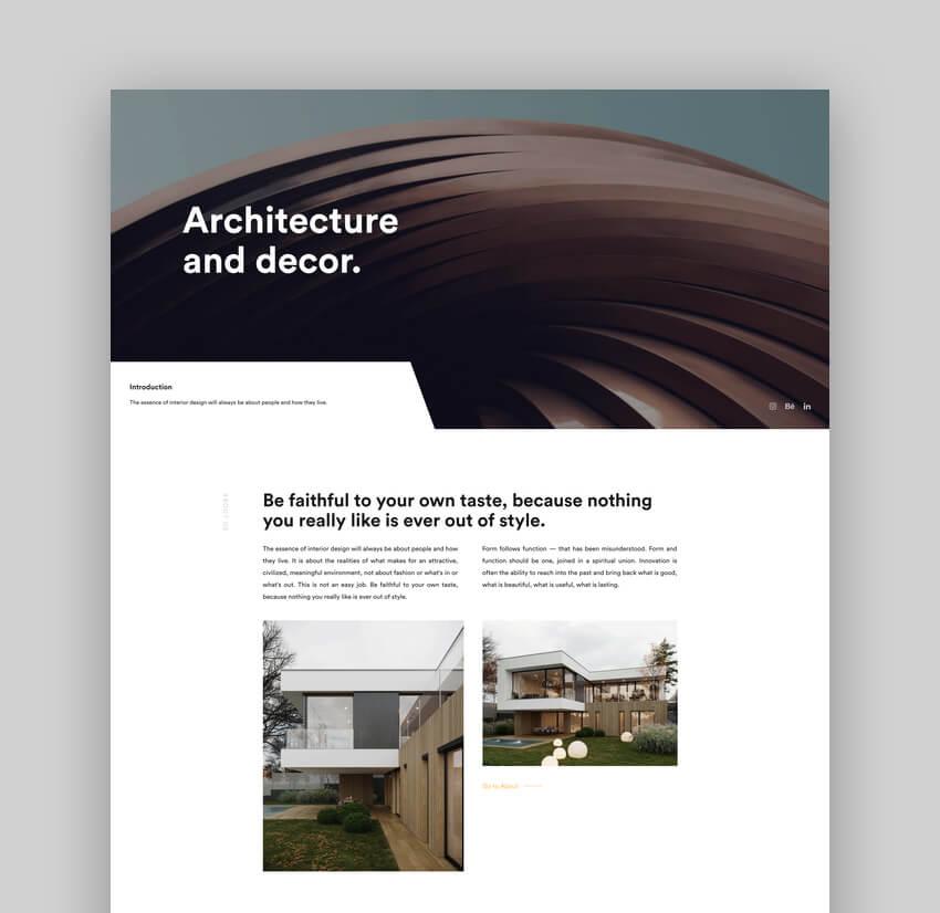 Arcdeco - Architecture Interior Design Theme