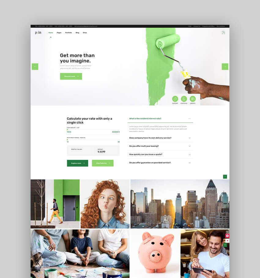 PrimeInvest - Finance WordPress Theme For Accountants And Bookkeepers