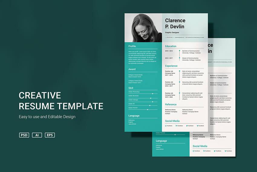 VDN Resume template v31