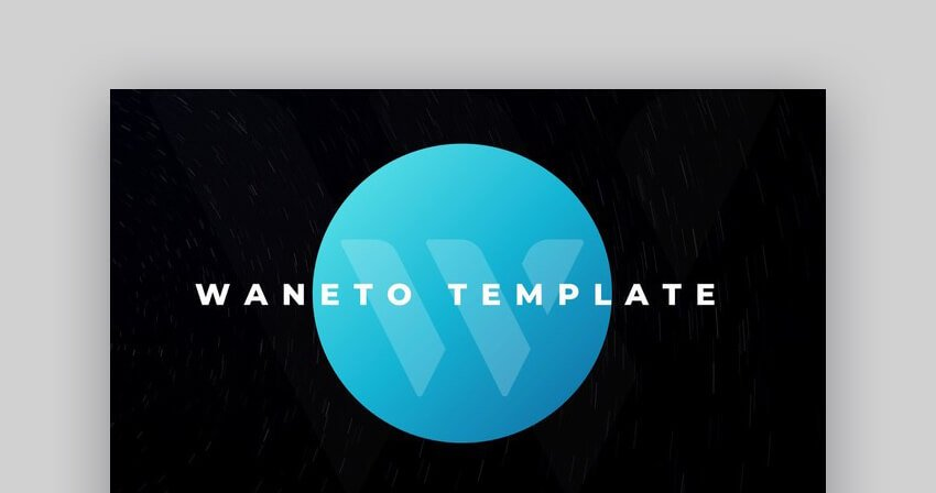 Waneto Multipurpose PowerPoint Template