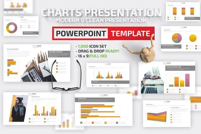 Charts Design PowerPoint
