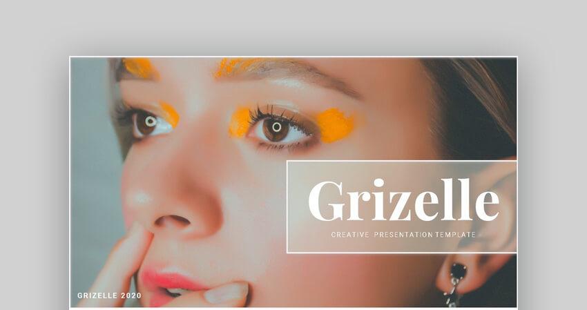 Grizelle - Creative Google Slides Template