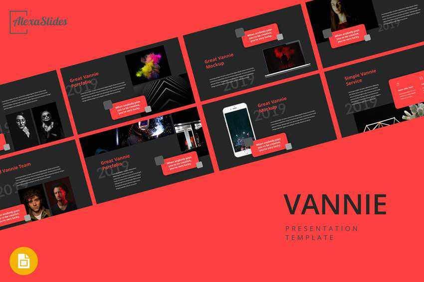 Vannie Google Slides template