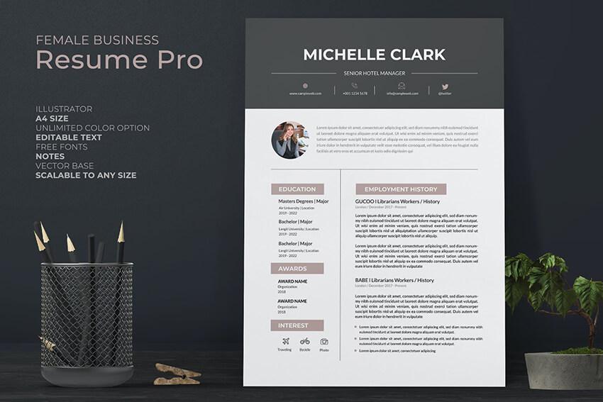 Receptionist Resume Pro