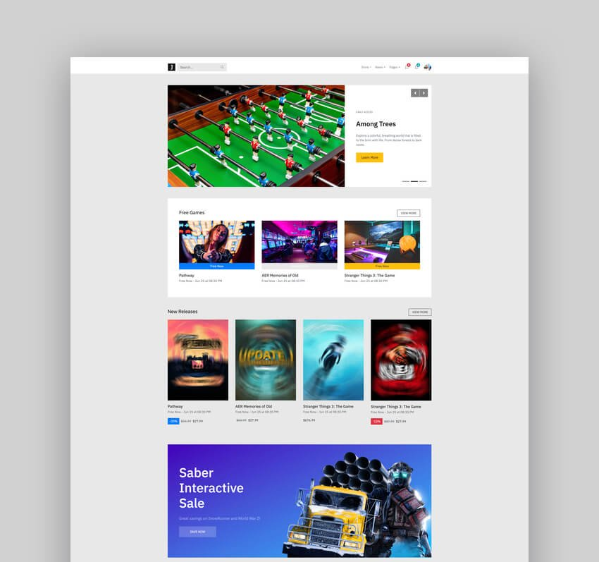 Jarda - ESports Online Game and Gaming Store HTML Template