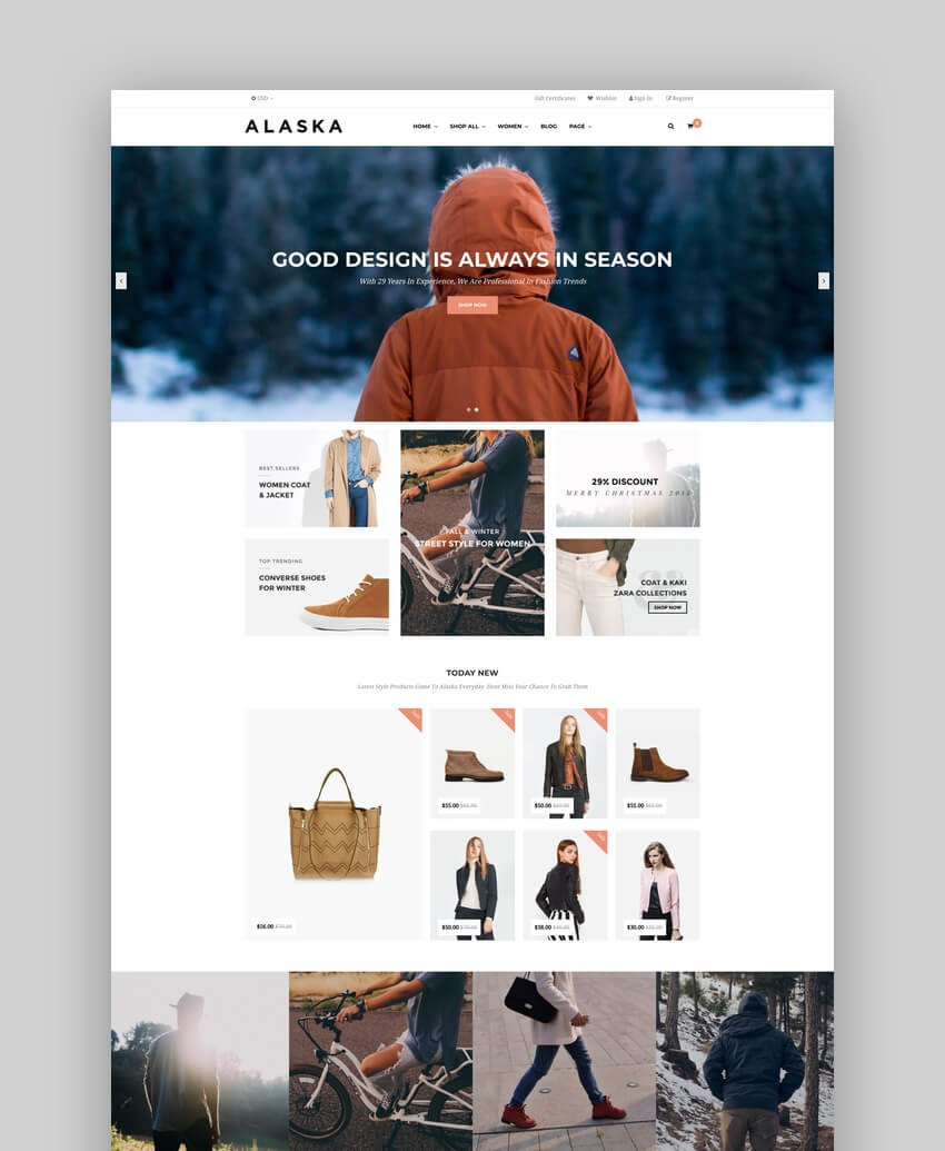 AP Alaska - Responsive BigCommerce Theme