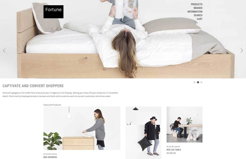 Fortune Free BigCommerce Theme