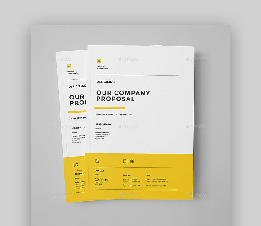Proposal Template For Sales Proposals