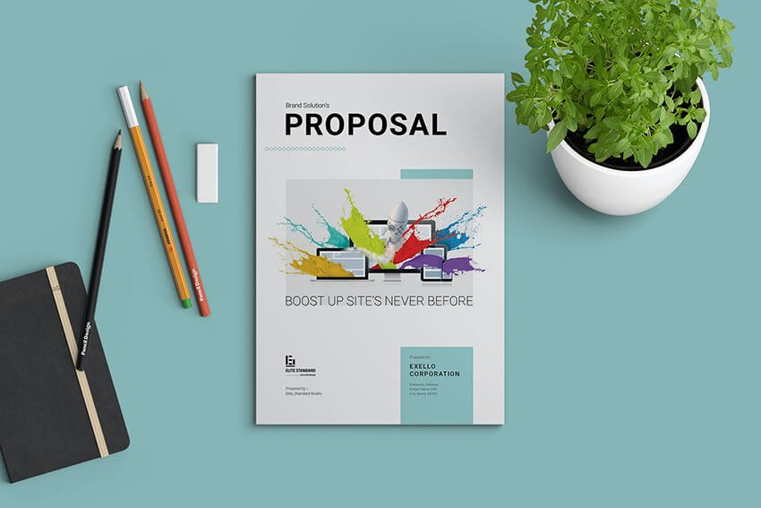 Sales Proposal Template Example