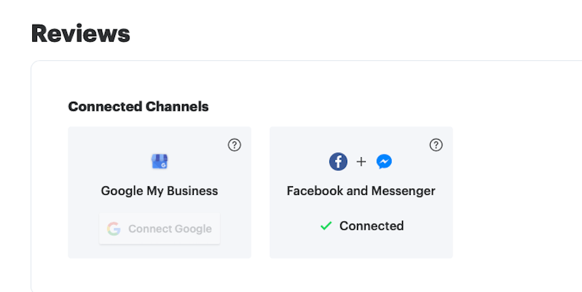 Connected Facebook to Podium