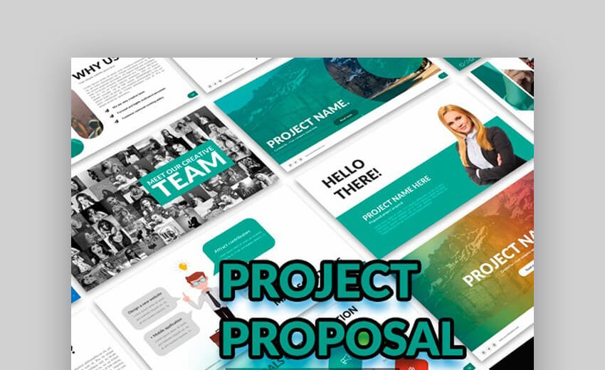 Project Proposal - PowerPoint Presentation Template
