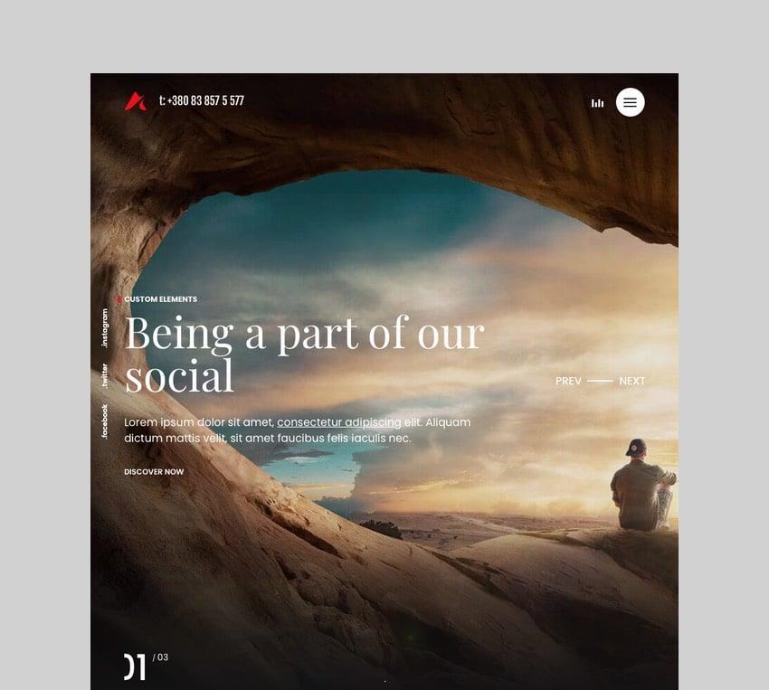 Anchord - Portfolio and Freelancer WordPress Theme