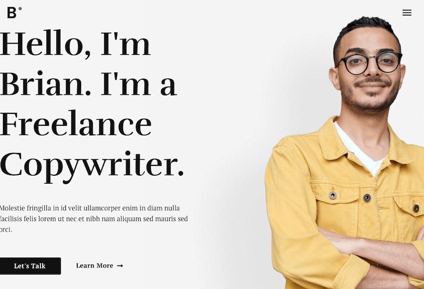 Astra - Freelancer Portfolio WordPress Theme