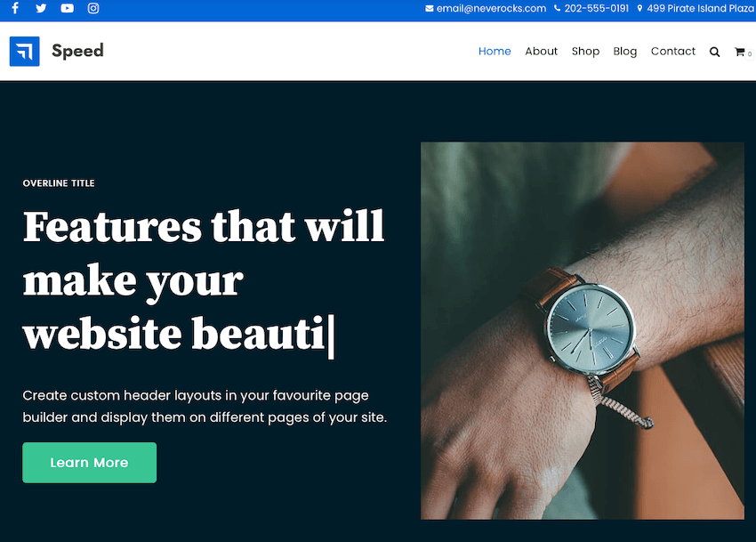 Neve - WordPress Theme for Freelancers