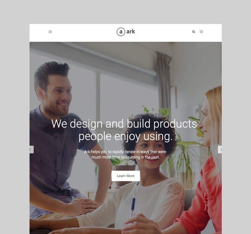 The Ark - WordPress Theme for Freelancers