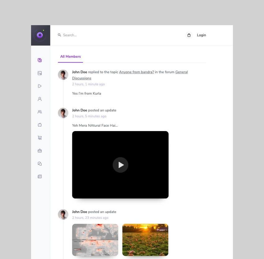 Beehive - Social Community WordPress Theme