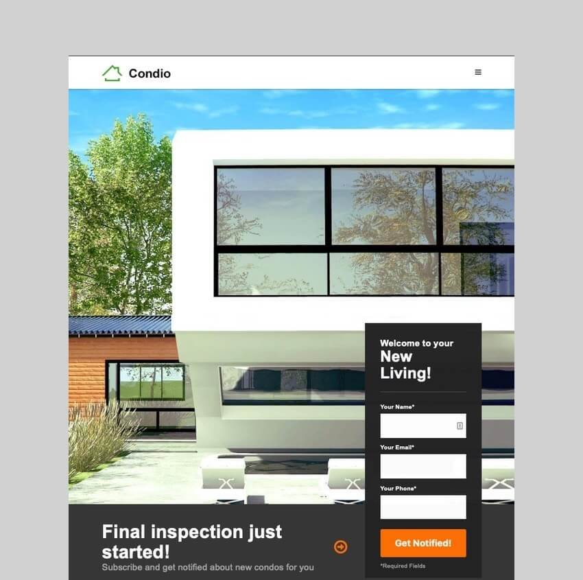 Condio - Real Estate Theme for Single Properties
