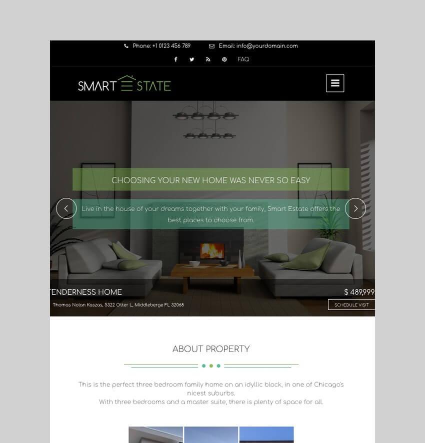 Smart Estate - Ultimate Single Property Theme