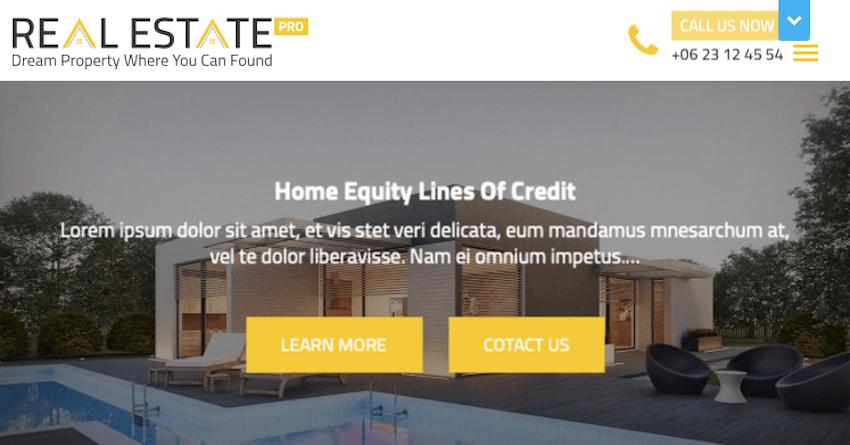 Real Estater - WordPress Theme