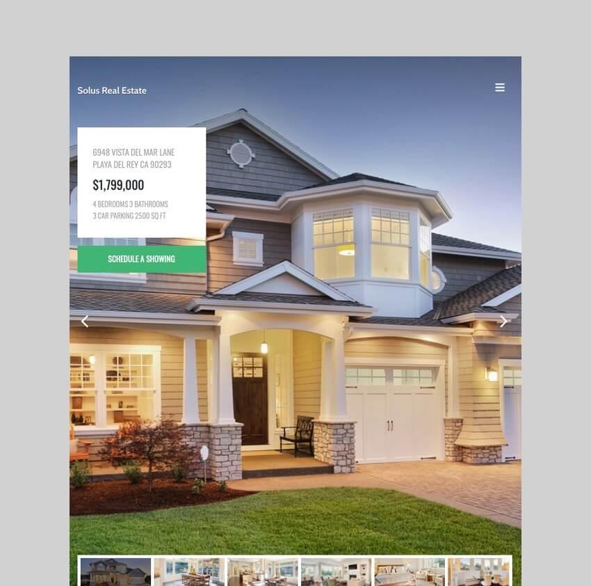 Solus - Single Property Theme