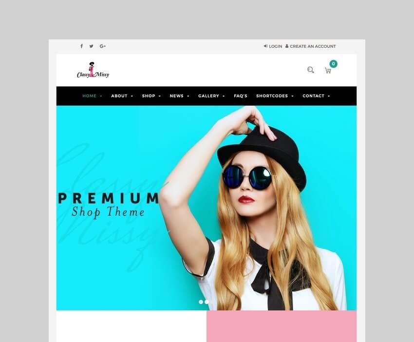 Fashion WooCommerce drop shipping theme
