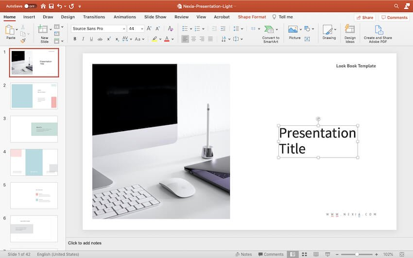 Customize your title slide