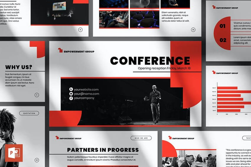 Conference PPT template
