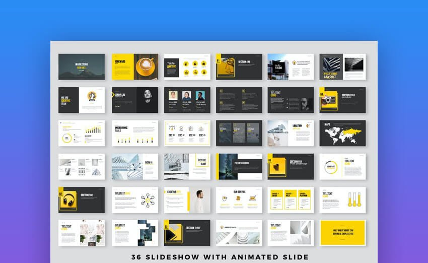 Simple Presentation PowerPoint Template