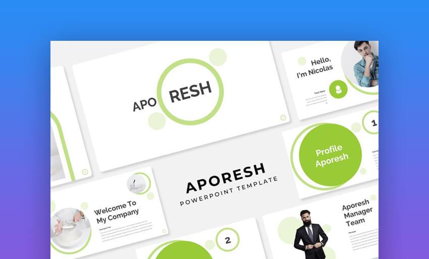 Aporesh modern powerpoint template
