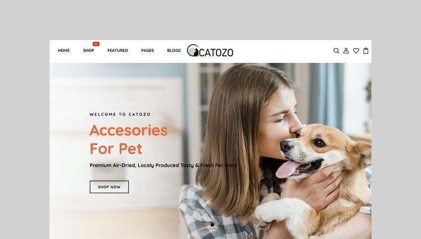 Catozo - Pets Shop Responsive Shopify Theme