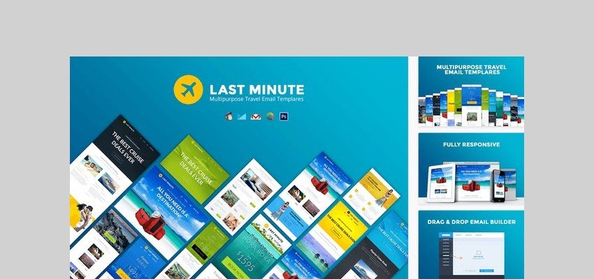 Last Minute Multipurpose Email Template by JeetuG