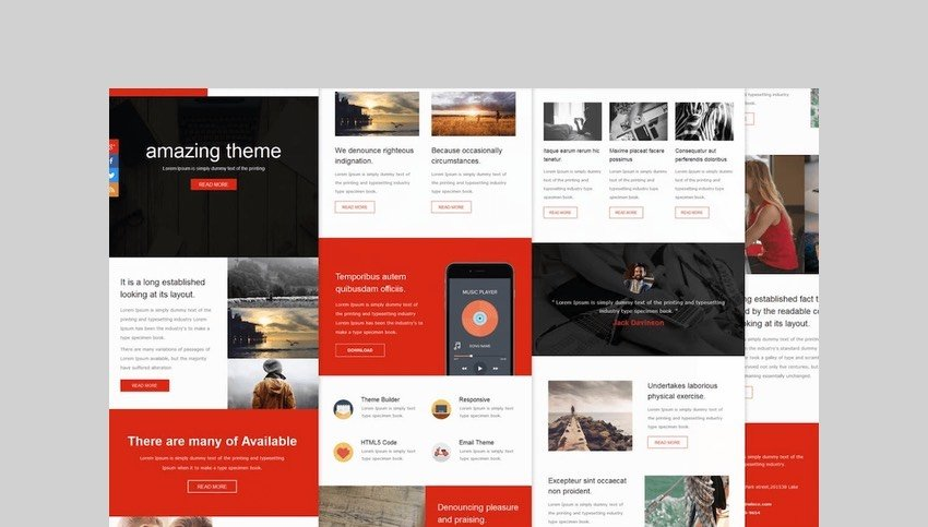 Wince Mail - Responsive E-mail Template by williamdavidoff